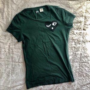 Levi's dark green T-shirt